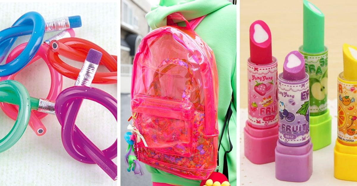 20 accesorios que todas las chicas de los 90's queríamos llevar al colegio