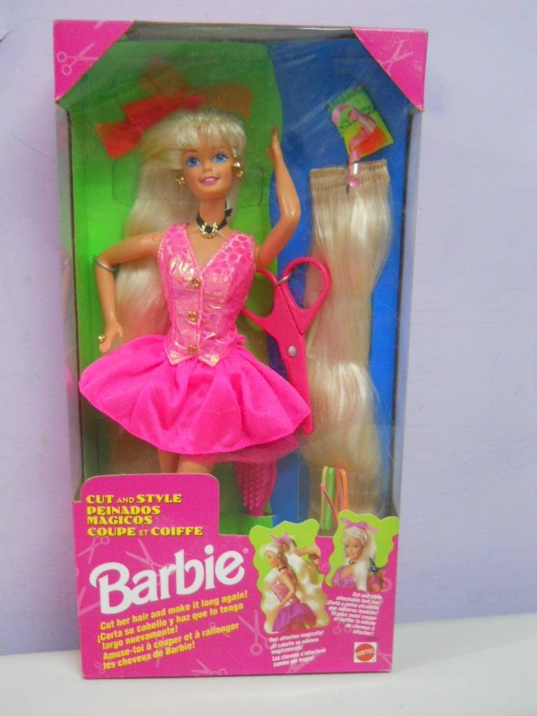 barbie peinados magicos 90's
