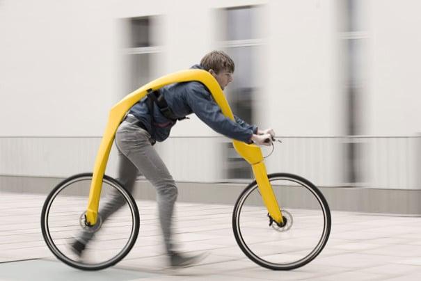 bicicleta para correr