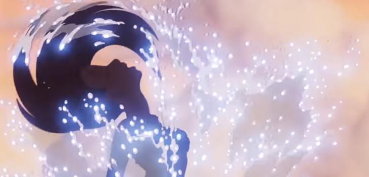 imagen animada de la sirenita