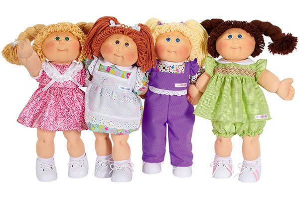 cabbage patch de los 90's