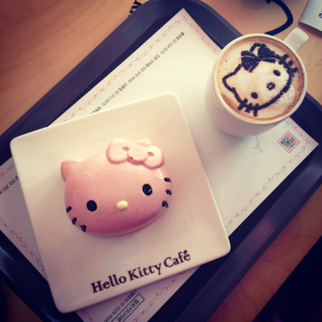 cafe hello kitty cafe y muffin
