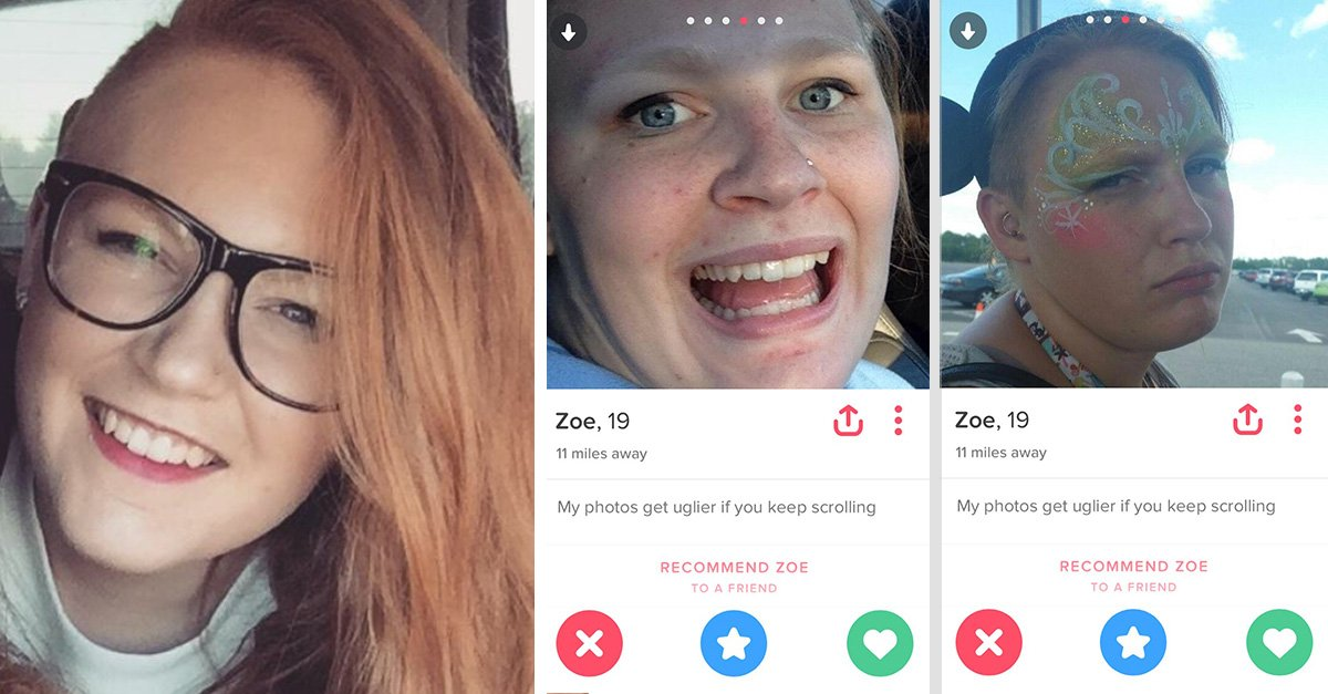 Usó sus peores fotos en Tinder para conseguir citas; no las consiguió, pero se divirtió
