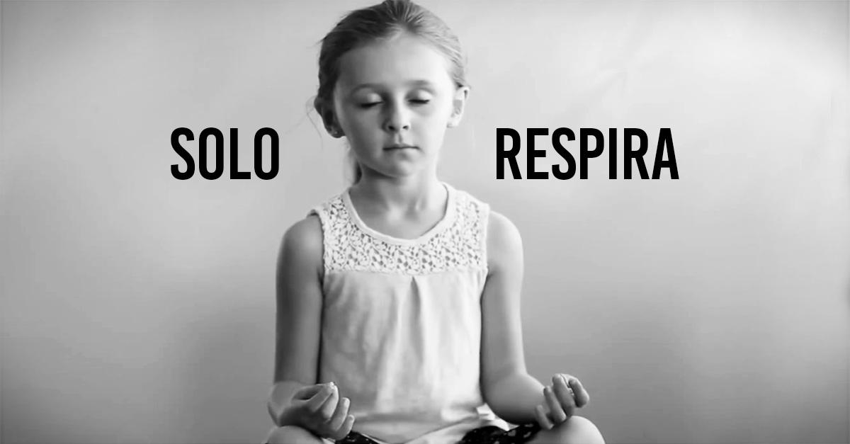 'Solo Respira', el video que enseña a niños y adultos a manejar las emociones