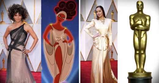 10 cosas a las que se parecieron las famosas en los Oscar 2017
