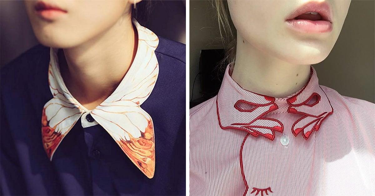 20 cuellos tan originales y lindos que te harán abotonar tu camisa