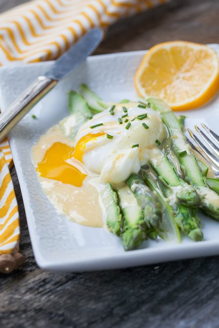 Esparragos con huevo