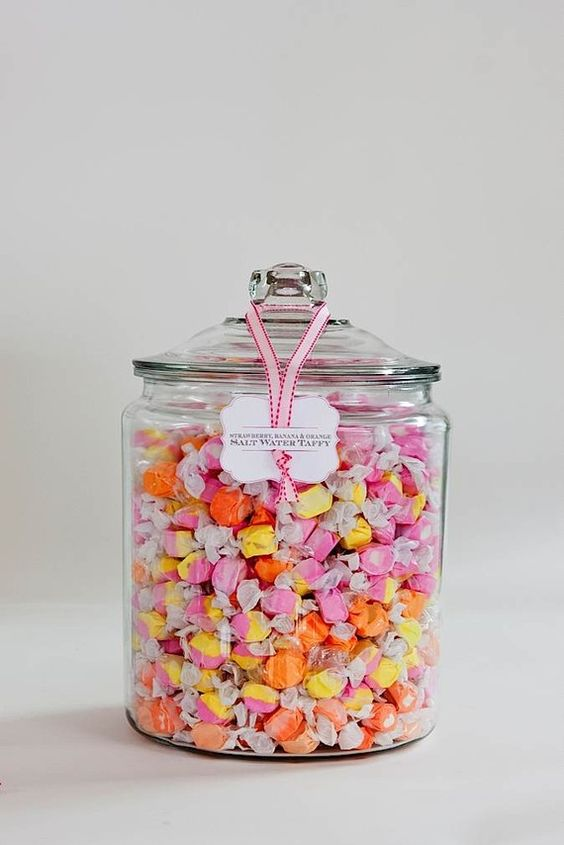 dulces en bonbonera