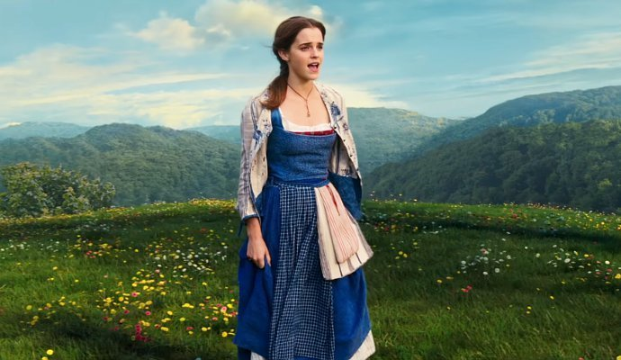Emma watson como bella