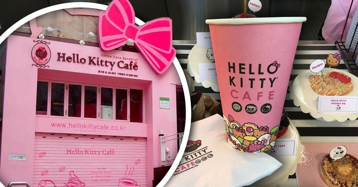 El café de Hello Kitty que todo fan debe conocer