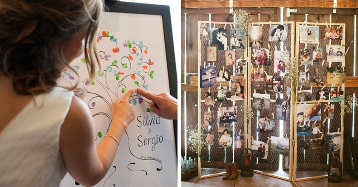 15 ideas originales para una boda inolvidable