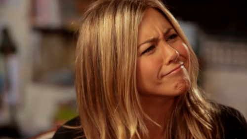 jennifer aniston funny face