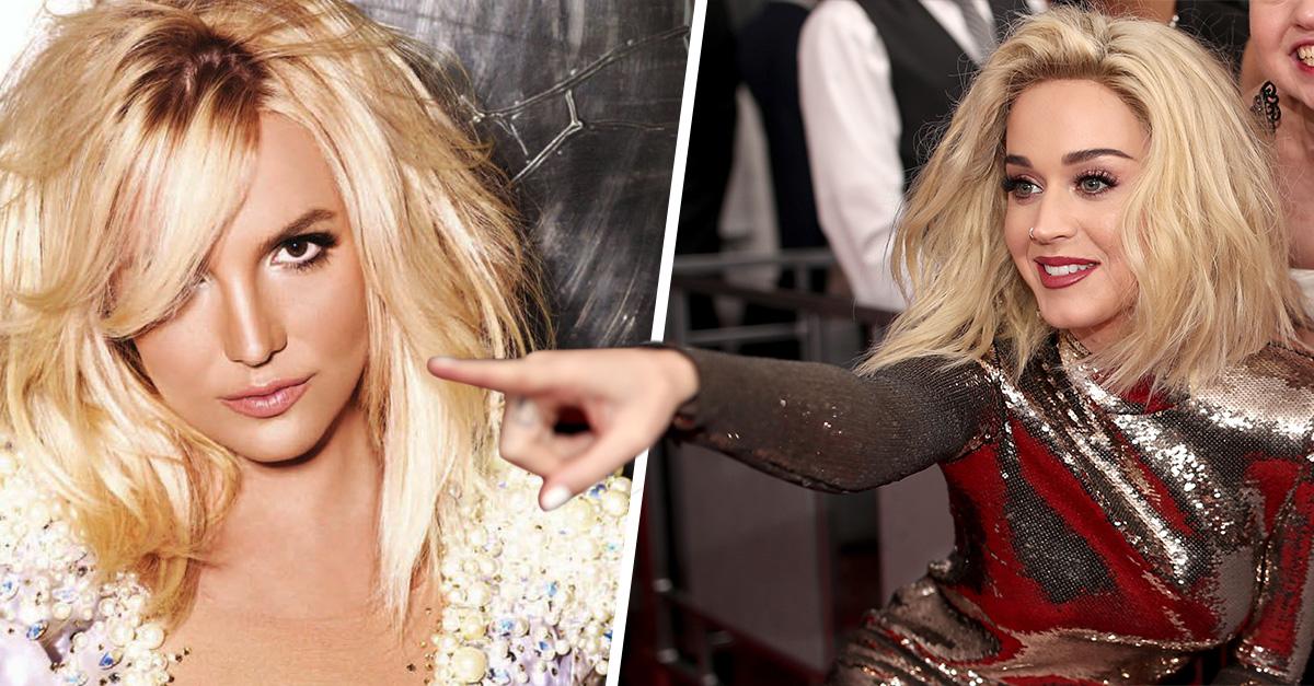 La cruel broma de Katy Perry sobre la crisis de Britney; ella contesta con una cita bíblica