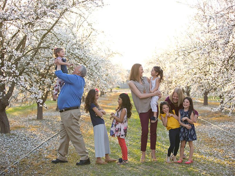 la familia de Lacey Dunkin