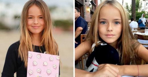 Esta es la increíble vida de 'la niña más guapa del Mundo'
