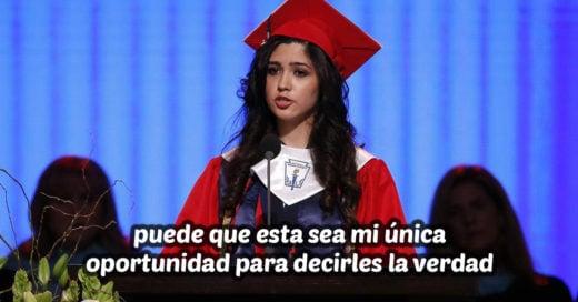 Esta estudiante mexicana fue el mejor promedio; durante su discurso de graduación reveló su secreto más grande