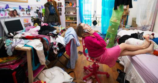 La chicas que son desordenadas son más saludables: estudio
