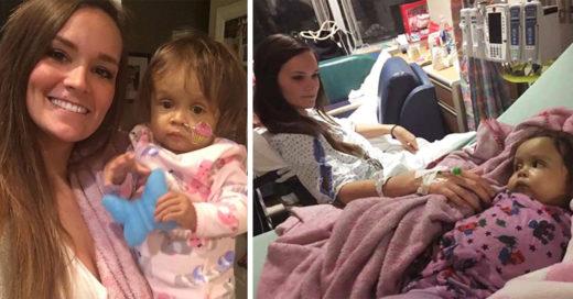 Esta niñera le regaló parte de su hígado a la pequeña que cambió su corazón