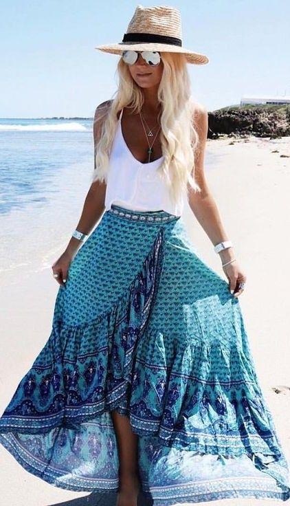 15 increíbles outfits de la tendencia boho que te encantarán 8c74ca2f2a2