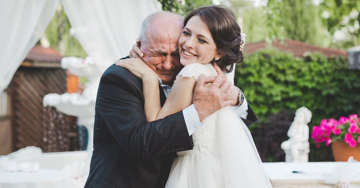 El infinito amor de un padre a su amada hija