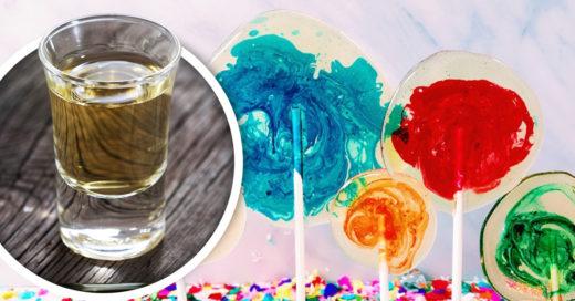 Olvídate de los shots y prueba la mezcla de 'Tequila Marble Pops'