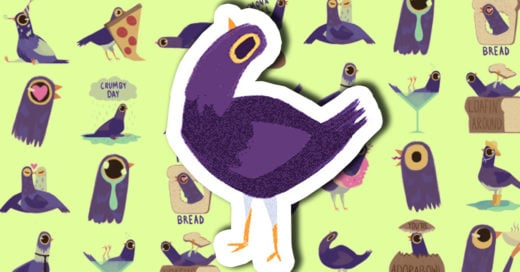 Trash Doves el sticker que se apodero de Facebook y del mundo