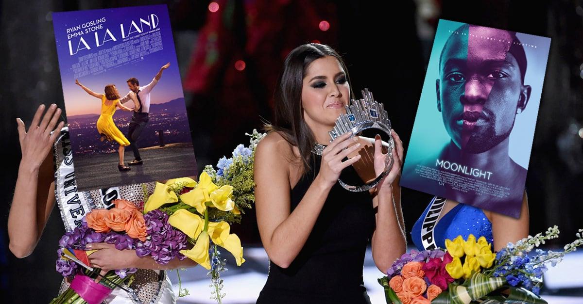 La la... La polémica en la entrega de los Oscar 2017 y sus errores que pasarán a la historia