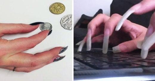 15 situaciones absurdas que vives cuando amas las uñas postizas