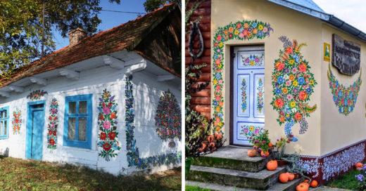 Zalipie, el pintoresco pueblo polaco que ama las flores