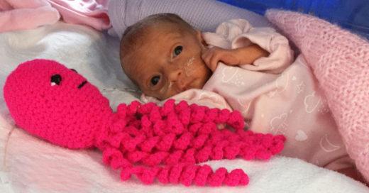 Está es la razón por la que los hospitales te piden que hagas pulpos de crochet
