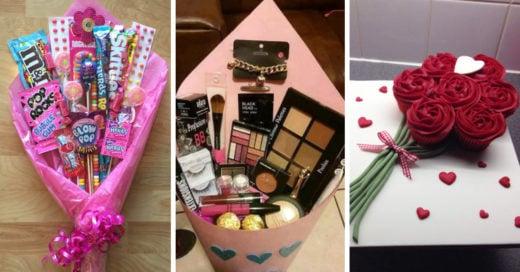 10 ramos diferentes que toda chica detallista merece recibir en San Valentín