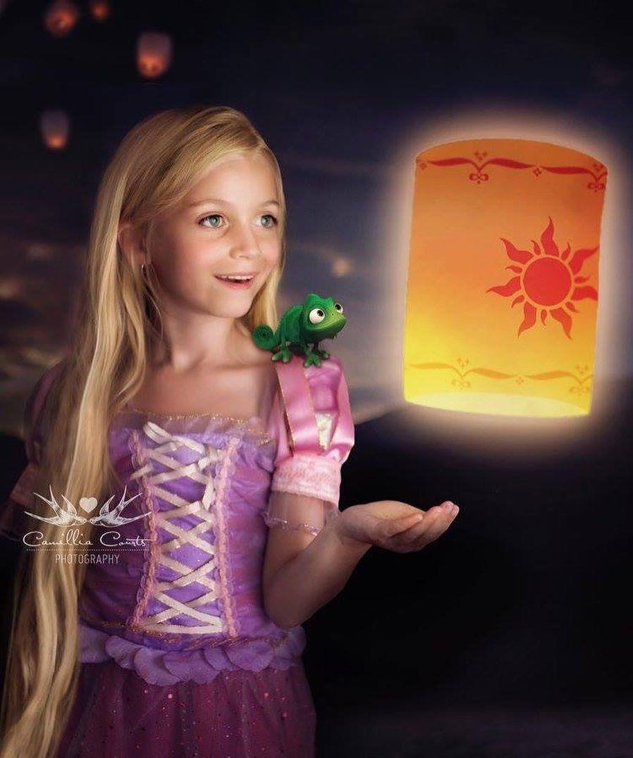 rapunzel con lámpara layla courts