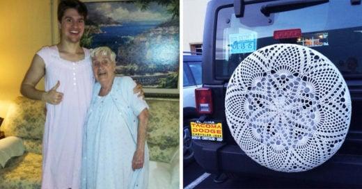 15 Regalos extaños que las abuelas hacen para sus nietos