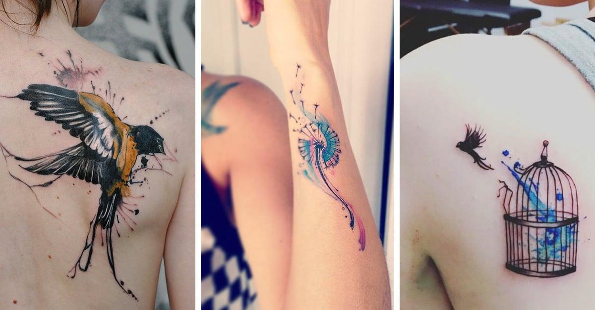 20 increíbles tatuajes solo para las chicas de alma libre