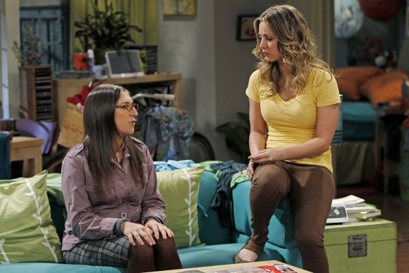 the big bang theory girls talking