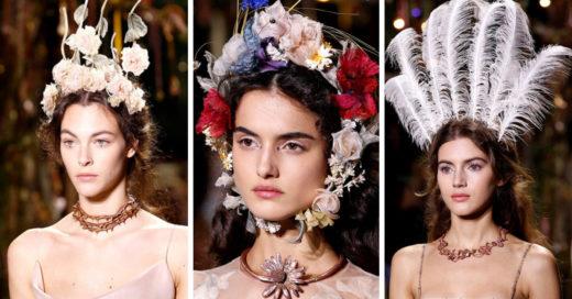 Querida novia: estos son los tocados de Dior que necesitas usar en tu boda
