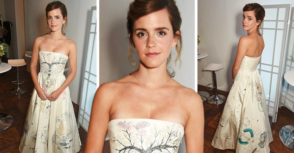 Emma Watson y su vestido inspirado en el tarot asombran al mundo de la moda