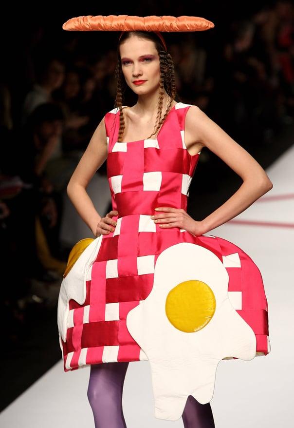 vestido de huevo estrellado