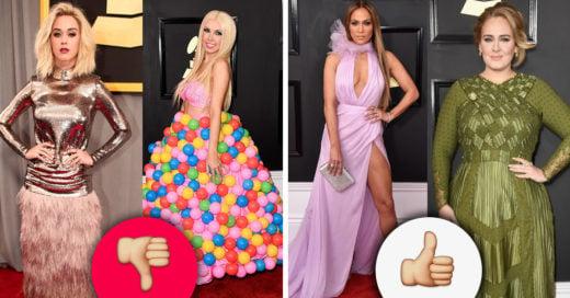 Los 10 mejores y peores looks de la noche en los Grammy 2017