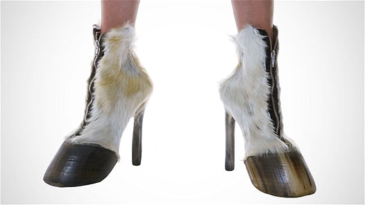 zapatos de pesuñas