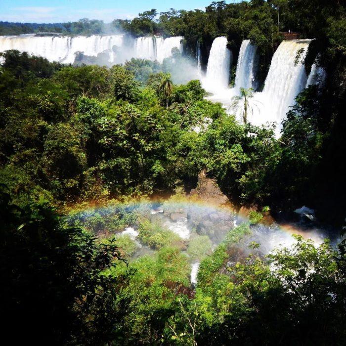 Cascadas Iguazu entre Brasil y Argentina