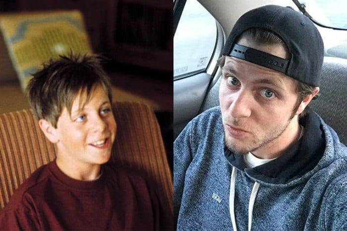 niño rubio antes y después