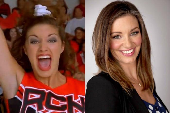 mujer antes y después rubia