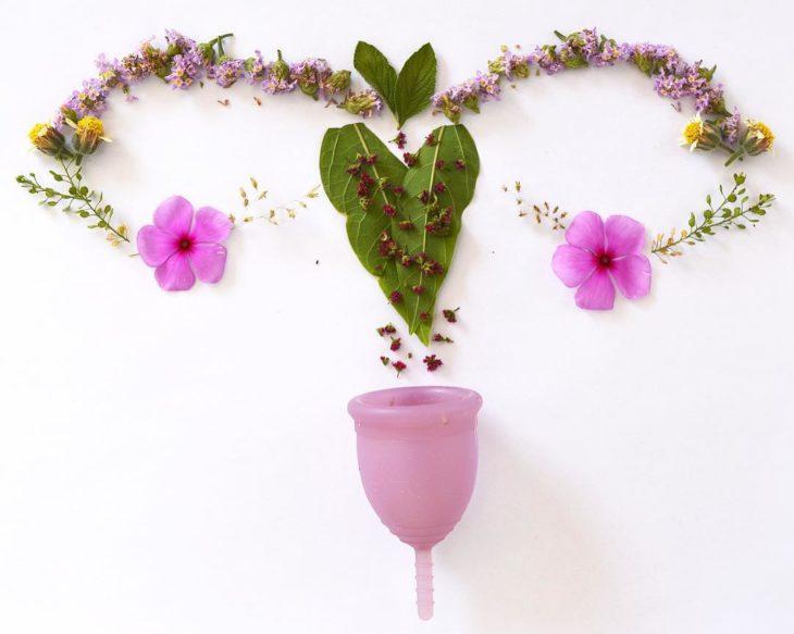 imagen de matriz con plantas y flores