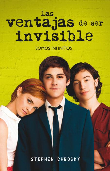 libro portada las ventajas de ser invisible