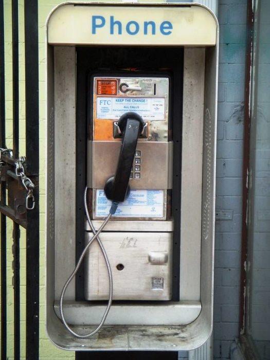 telefono de monedas