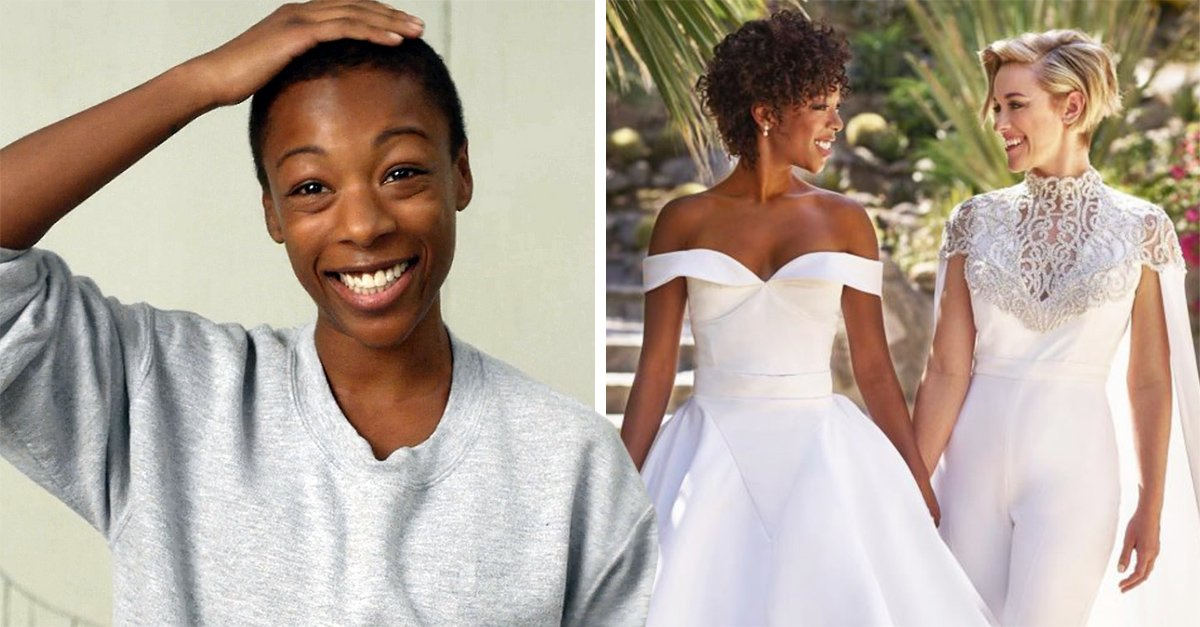 Actriz y guionista de 'Orange Is The New Black' se casan; su boda fue increíble