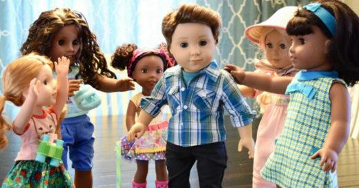 'American Girl' lanza su primer muñeco hombre