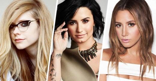 Avril, Demi y Ashley graban el tema de la película Charming y así lo dieron a conocer