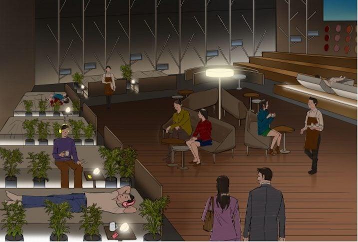Cafeterías de siestas